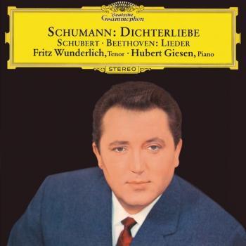 Cover Schumann: Dichterliebe / Beethoven & Schubert: Lieder