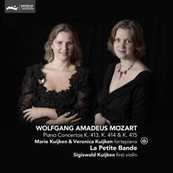 Cover Mozart: Piano Concertos K. 413, K. 414 & K. 415