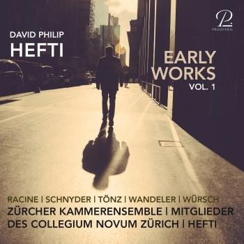 Cover David Philip Hefti: Early Works, Vol. I