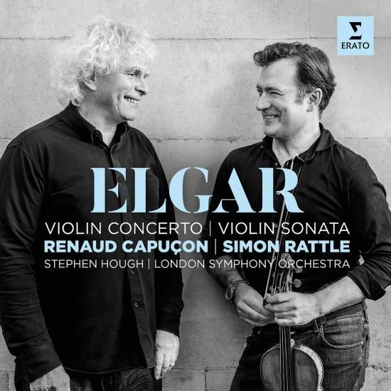 Cover Elgar: Violin Concerto & Violin Sonata