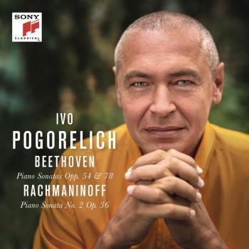 Cover Beethoven: Piano Sonatas Opp. 54 & 78 - Rachmaninoff: Piano Sonata No. 2 Op. 36