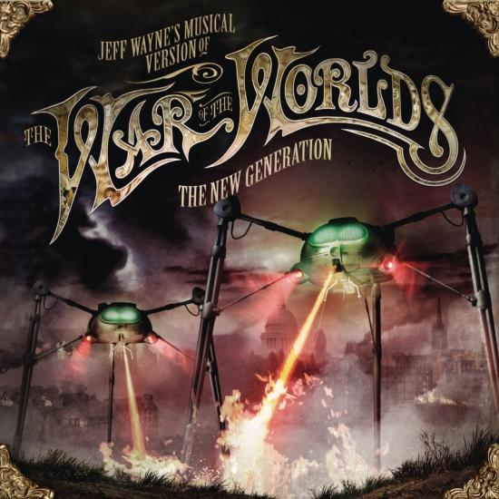 Cover Jeff Wayne's Musical Version of The War of The Worlds - The New Generation