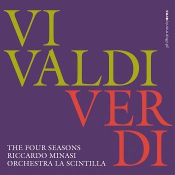 Cover Vivaldi/verdi: The four seasons