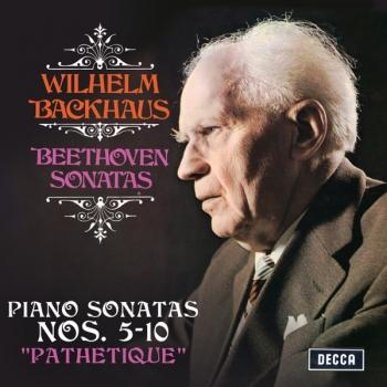 "Cover Beethoven: Piano Sonatas Nos. 5, 6, 7, 8 ""Pathetique"", 9 & 10"