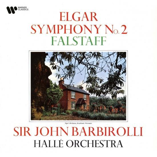 Cover Elgar: Symphony No. 2, Op. 63 & Falstaff, Op. 68 (Remastered)