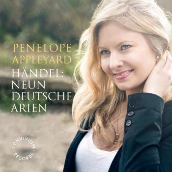 Cover Händel: 9 Deutsche Arien