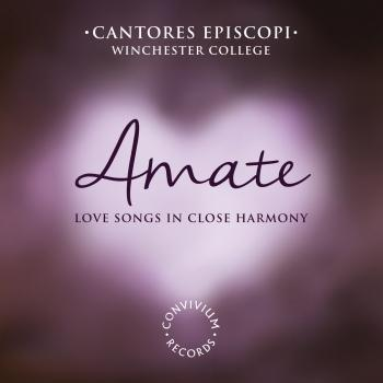 Cover Amate: Love Songs in Close Harmony