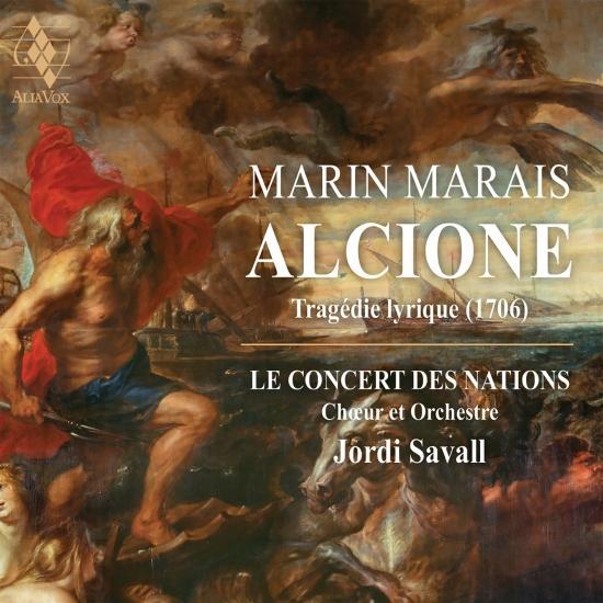Cover Marin Marais: Alcione