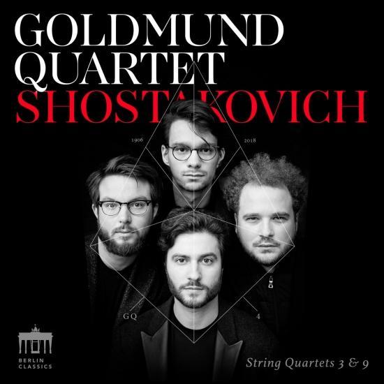 Cover Shostakovich String Quartets 3 & 9