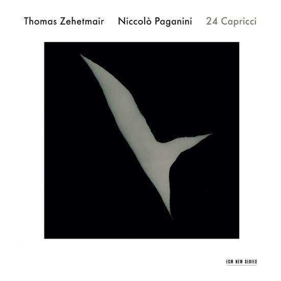 Cover Niccolò Paganini: 24 Capricci per violino solo