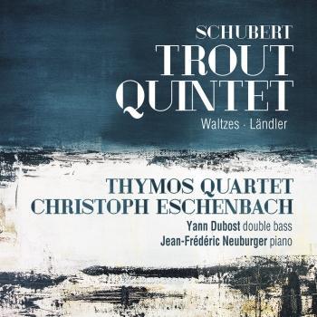 Cover Schubert: Trout Quintet, Waltzes & Ländler