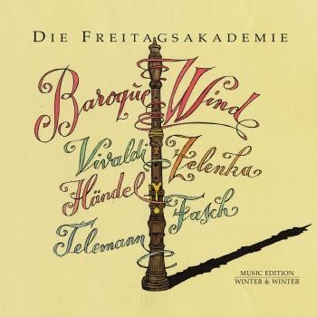 Cover Vivaldi, Händel, Zelenka, Fasch, Telemann: Baroque Wind