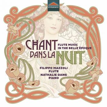 Cover Chant dans la nuit: Flute Music in the Belle Époque