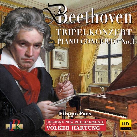 Cover Beethoven: Piano Concerto No. 3 in C Minor, Op. 37 & Triple Concerto in C Major, Op. 56