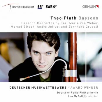 Cover Weber, Bitsch. Jolivet & Crussell: Bassoon Concertos