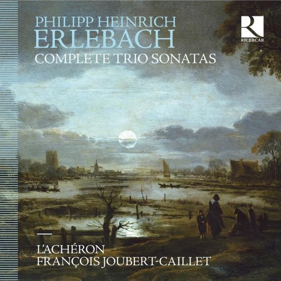 Cover Erlebach: Complete Trio Sonatas