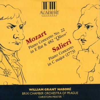 Cover Mozart: Piano Concerto No. 22 - Salieri: Piano Concerto in C Major