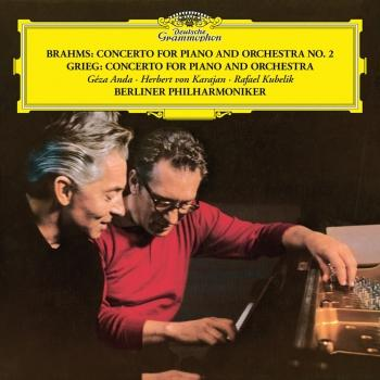 Cover Brahms: Piano Concerto No. 2 in B Flat, Op. 83 / Grieg: Piano Concerto in A Minor, Op. 16 (Remastered)