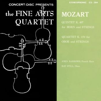 Cover Mozart: Horn Quintet, K. 407 & Oboe Quartet, K. 370 (Remastered from the Original Concert-Disc Master Tapes)