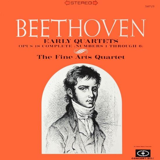 Cover Beethoven: Early Quartets (Remastered from the Original Concert-Disc Master Tapes)