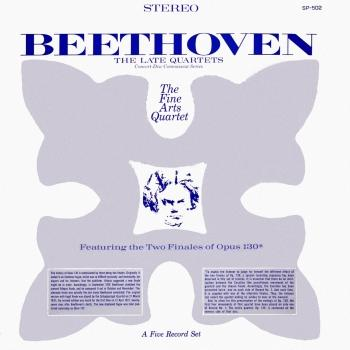 Cover Beethoven: The Late Quartets (Remastered from the Original Concert-Disc Master Tapes)