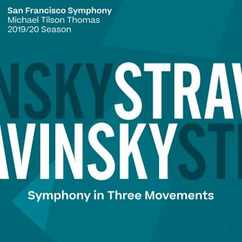 Cover Stravinsky: Symphony in Three Movements
