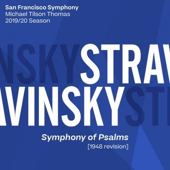 Cover Stravinsky: Symphony of Psalms