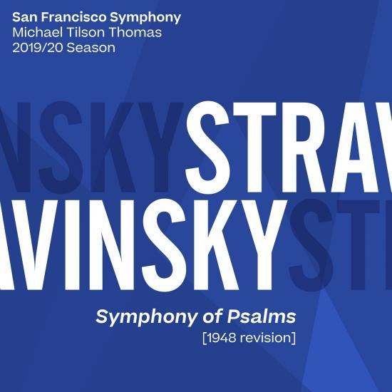 Cover Stravinsky: Symphony of Psalms