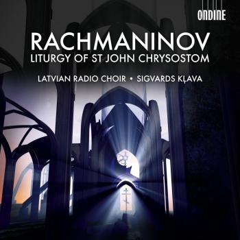 Cover Rachmaninov: The Divine Liturgy of St. John Chrysostom