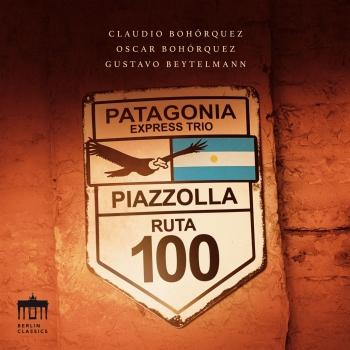 Cover Piazzolla: Patagonia Express Trio
