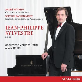 Cover Mathieu: Piano Concerto No. 4 in E Minor - Rachmaninoff: Rhapsody on a Theme of Paganini, Op. 43