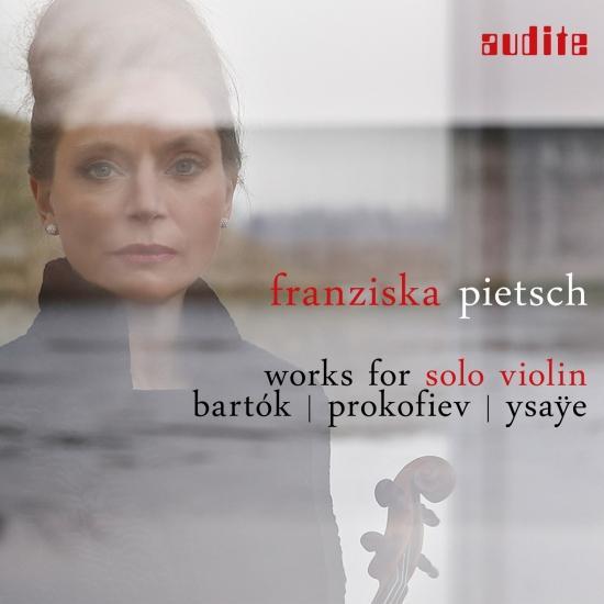 Cover Works for Solo Violin: Bartók, Prokofiev & Ysaÿe