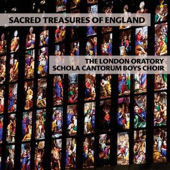 Cover Sacred Treasures of England