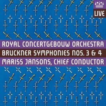 Cover Bruckner: Symphonies Nos. 3 & 4 (Live)