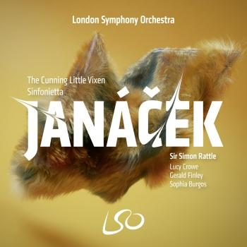 Cover Janáček: The Cunning Little Vixen, Sinfonietta