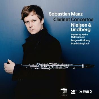 Cover Nielsen & Lindberg: Clarinet Concertos