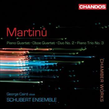 Cover Bohuslav Martinu: Chamber Works