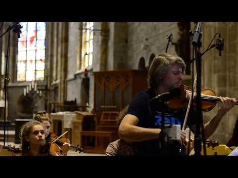 Video Daniel Rowland - Lonely Angel - Peteris Vasks -- Stift Festival Orchestra