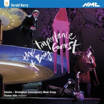 Cover Gerald Barry: The Importance of Being Earnest