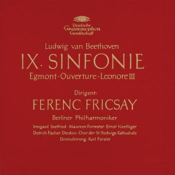 Cover Beethoven: Symphony No.9, Overtures 'Egmont' & 'Leonore III'