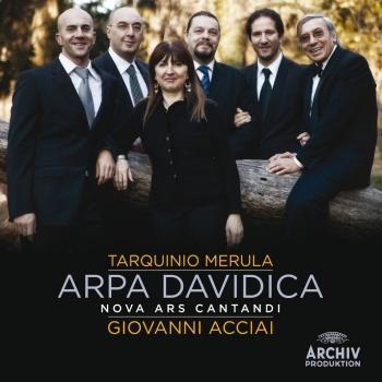 Cover Merula: Arpa Davidica. Salmi e messa concertata op.XVI (1640)