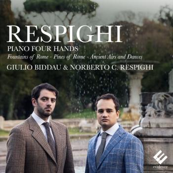 Cover Respighi: Piano Four Hands