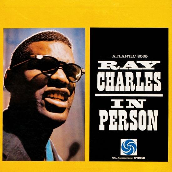 Cover Ray Charles In Person (Mono)