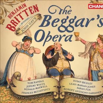 Cover Benjamin Britten: The Beggar's Opera [Opera]