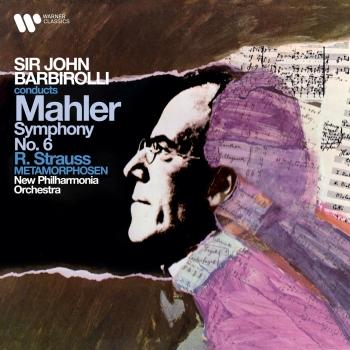 Cover Mahler: Symphony No. 6 'Tragic' - Strauss: Metamorphosen (Remastered)