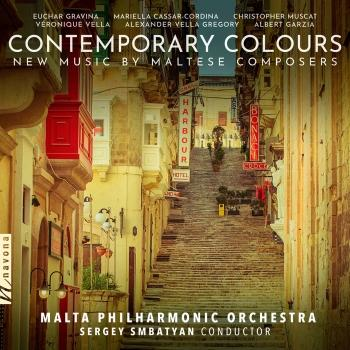 Cover Contemporary Colours: New Music by Maltese Composers