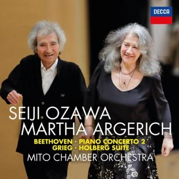 Cover Beethoven: Piano Concerto No. 2; Grieg: Holberg Suite
