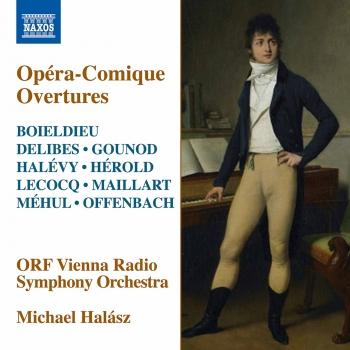 Cover Opéra-Comique Overtures