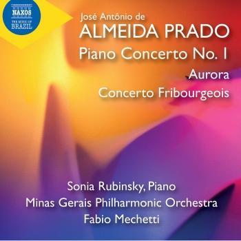 Cover Prado: Piano Concerto No. 1, Aurora & Concerto Fribourgeois