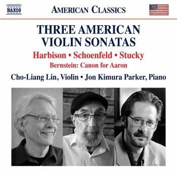 Cover 3 American Sonatas